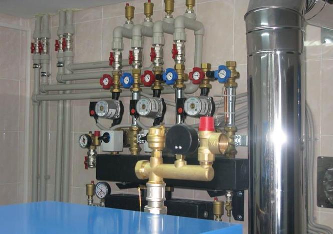 Оборудование для теплого пола водяного